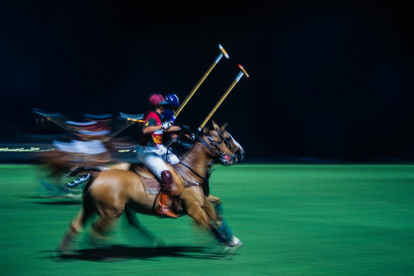 Polo: Horseback Mounted Team Sport in Motion