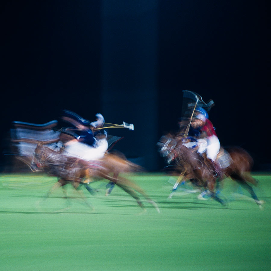 Polo: Horseback Mounted Team Sport in Motion